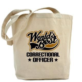 Corrections Officer Bags & Totes  Personalized Corrections Officer