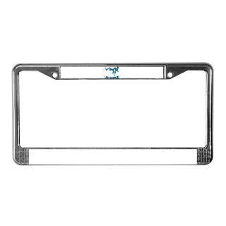 NACI (823 BLUE2) License Plate Frame for
