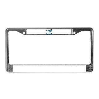 NACI (823 BLUE2) License Plate Frame for