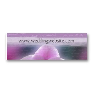 Wedding gift cards / profile cards business card templates