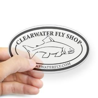 Fly Fishing Logo Stickers  Car Bumper Stickers, Decals