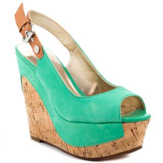 Guesss Green Dagmar   Med Green Leather for 114.99