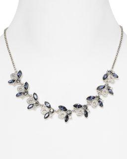 Carolee Royal Blue Crystal Necklace, 16