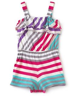 Infant Girls Ruffled Romper   Sizes 3 24 Months