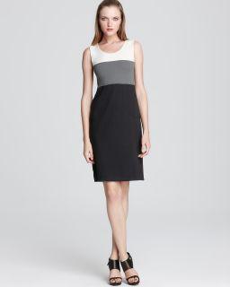 Armani Collezioni Dress   Color Block Jersey
