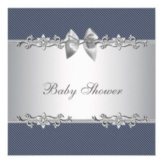 invitation template this cute blue and gray baby shower invitation is
