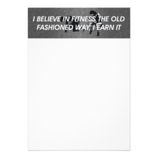 TOP Believe in Fitness Personalized Invites