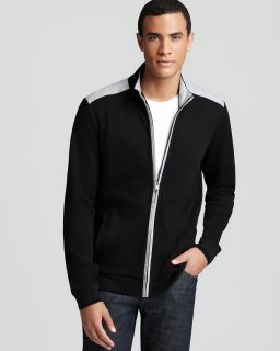 boss black pacentro zip sweater price $ 175 00 color black size select