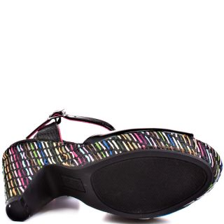 Unlisteds Multi Color Relay Lace   Black for 59.99