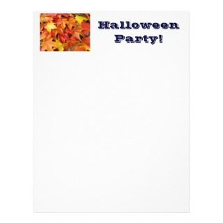 Halloween Party Flyer paper Design Your Own