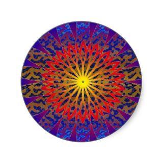 2011 SDC SUN Dial Chakra Sticker