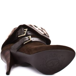 osage brown multi suede guess shoes sku zgs608 $ 154