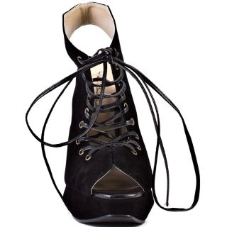 Black Malka   Black Suede Leather for 119.99