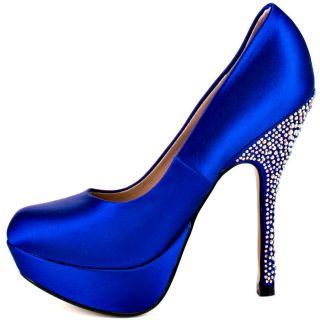 Partyy R   Blue Satin, Steve Madden, $124.99,