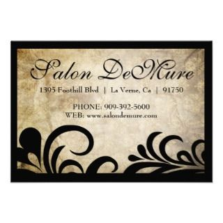 Modern Sophisticated Salon Gift Certificates Personalized Invitation