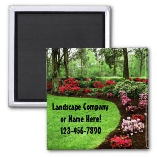 Lawn Care Magnets, Lawn Care Magnet Designs for your Fridge & More