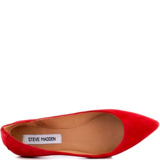Steve Maddens Red Vegasss   Red Suede for 79.99