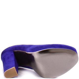 Sarrina   Blue Suede, Steve Madden, $99.99,