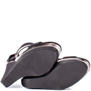 Michael Antonios Black Garron   Black Metallic Pu for 59.99