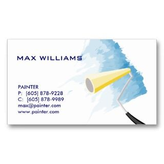 Painter / Painting Business Card