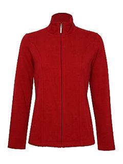Dash Usa Rib Jacket Red