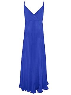 Alexon Blue cross front maxi dress Dark Blue