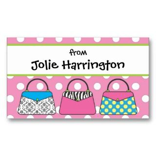 Purse Handbag Gift Card Calling Card Business Cards