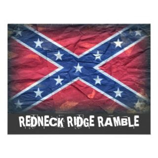 customizeable invitation for a rockin redneck get together git down