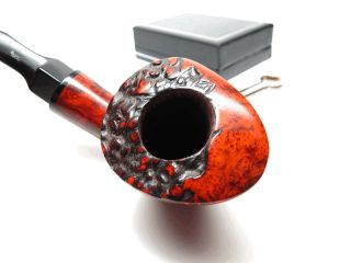 Nording High Grade Vintage Straight Grain Freehand Estate Pipe
