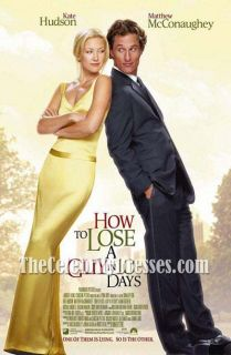 Kate Hudson How to Lose A Guy in 10 Days Dress Prom Evening Party Ball