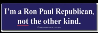 Infowars Alex Jones Ron Paul Political Bumper Sticker