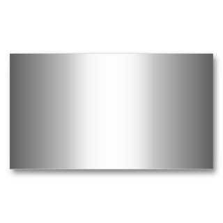 Silver Metal  Business Cards