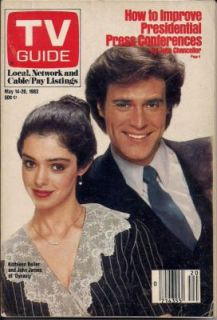 1983 TV Guide Dynasty Kathleen Beller John James FP