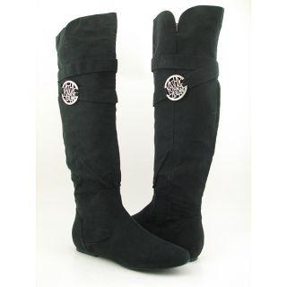 Kathy Van Zeeland Babe Boots Shoes Black Womens Sz