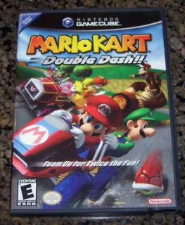 Nintendo GameCube Game Mario Kart Double Dash