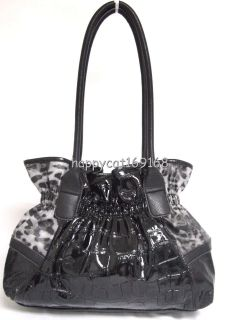 Kathy Van Zeeland Belting It Out Blet Shopper Handbag Black
