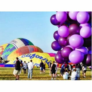 Balloons Hot Air Cluster John Ninomiya Cut Out