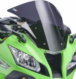 Puig Racing Windscreen Dark Smoke Kawasaki ZX 10R ZX10R 2011