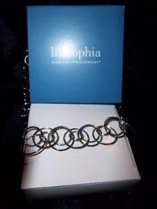 NWT LIA SOPHIA Retired Round Trip Necklace ~ 18   21 ~ $68