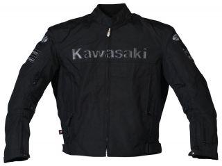 Joe Rocket Black Kawasaki ZX Textile Jacket 2XL XXL