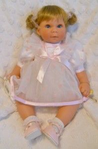 Lee Middleton Baby Doll Young at Heart, LE by artist Reva Schick