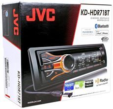 JVC KD HDR71BT Car CD MP3 HD Radio Player Receiver Bluetooth Pandora
