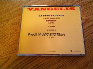 Vangelis La Fete Sauvage Spiral CD