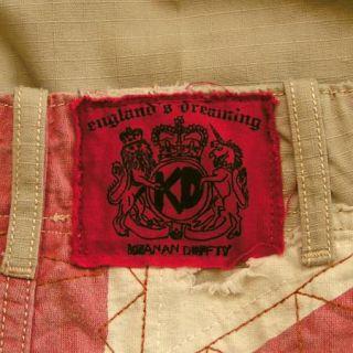 Keanan Duffty British Flag Union Jack Pants 28 30