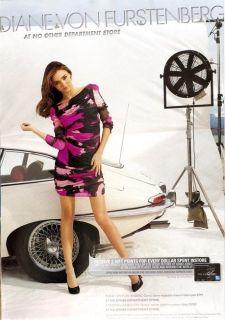 445 Diane Von Furstenberg Keena Ruched Chiffon Dress 4