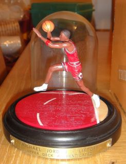 Michael Jordan Chicago Bulls Upper Deck Lift Off Figurine Limited