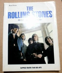 Stones Best Japan Band Score Tab Mick Jagger Keith Richards