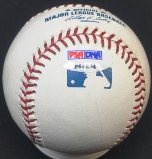 Ryan Howard Hand Signed Autographed Baseball Ball PSA DNA COA