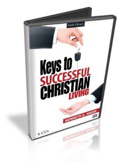 Keys to Successful Christian Living Kenneth Hagin 6CDS