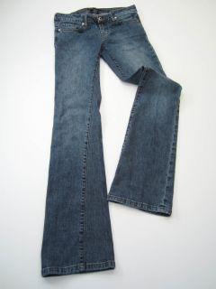 Kenneth Cole Womens Size 2 Inseam 33 Denim Blue Jeans Boot Cut 1%